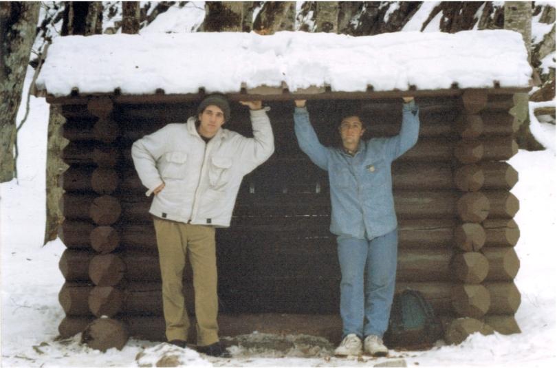Refugio Ordesa Javier y Carlos