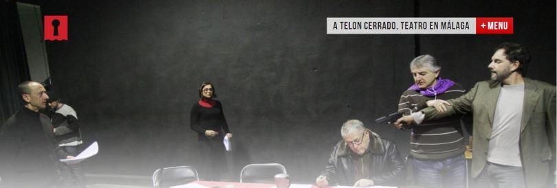 A Telón Cerrado Málaga