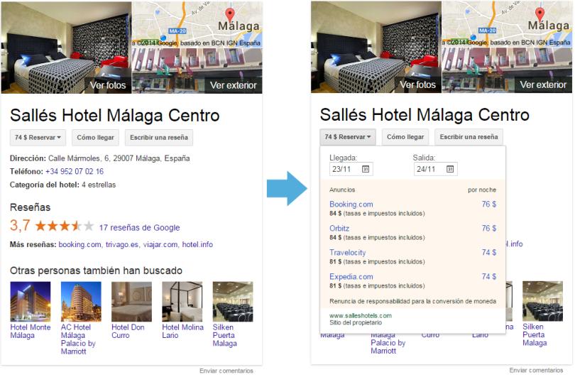 Google Carrusel - Hotel Snippet