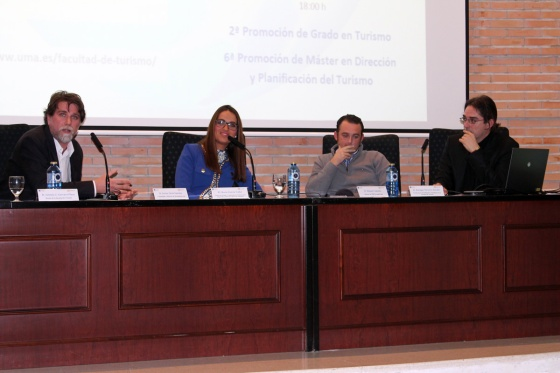 Acto de Graduación de Turismo Málaga 2014