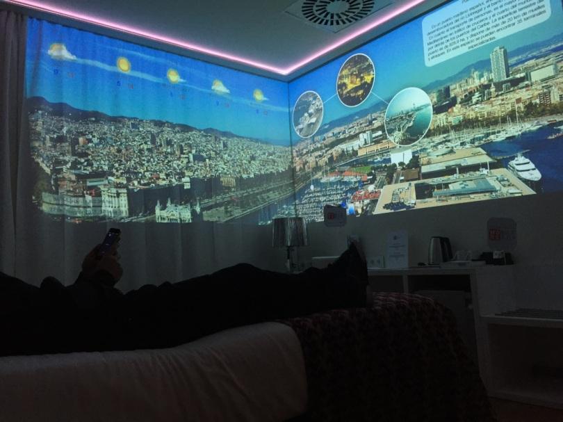 Habitación de Hotel tecnológico Broomx